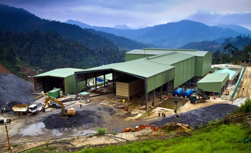 Besra's Phuoc Son gold mine has been closed since July 23. Photo credit: VnExpress