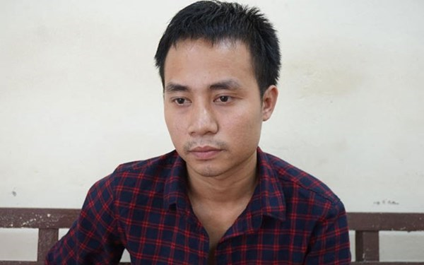 Nguyen Xuan Viet, 23, was arrested on Thursday for snatching an iPhone from a Finnish tourist. Photo provided by the police.