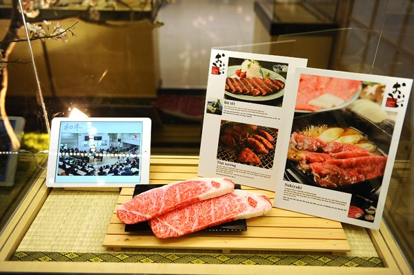 A display at the Japanese Food Museum in Ho Chi Minh City's Tan Phu District. Photo: T.N.