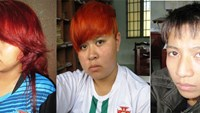 The police said they arrested on Sep. 5 Nguyen Ngoc Phuong Lam, 16, Lai Tran Thanh Thuy, 16, and Phan Nhat Hoa, 15 for allegedly robbing Lam's mother, Phuong Anh, in Khang Dien residential area on Aug. 27.