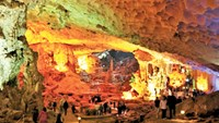 An acoustic concert will be held in the 2-million year old Dau Go cave in Quang Ninh Province. Photo: Ngoc Thang