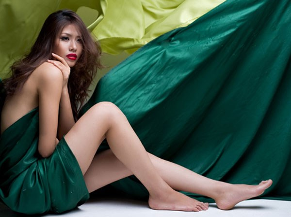 Nguyen Thi Loan, 24, will represent Vietnam at the Miss World Competition in London. The competition will be held from November 22 - December 14. File photo.