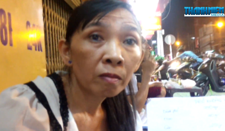 Duong Thi Kim Anh, a cook at Pho Ong Hung in Ho Chi Minh City. Anh said that she was forced to serve customers who volunteered for an eating challenge outsized portions to sabotage their chances of finishing.