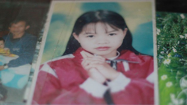A photo of Nguyen Thi Phuong provided by her family. Photo courtesy of Tuoi Tre
