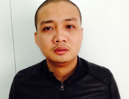 Cao Xuan Quat, 24, turns himself in to police on Dec. 26. Photo provided by police