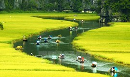 Row your boat along Trang An, now a UNESCO heritage site