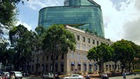 Diamond Plaza in the center of Ho Chi Minh City. File photo
