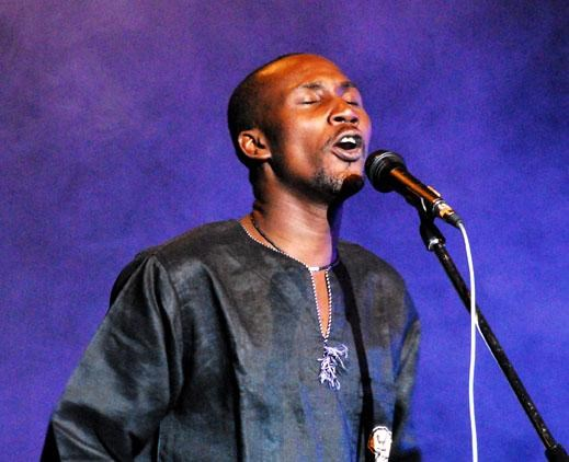 African singer Aliff Naaba will perform in Ho Chi Minh CIty next Friday. File photo.