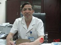 A file photo shows Doctor Vu Van Quyet, head of the National Hospital of Obstetrics and Gynecology in Hanoi.