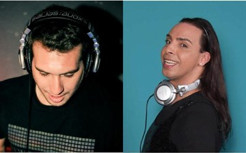 Two leading DJs of Israel, Daniel Mariuma and Moti Saadia, will perform in Ho Chi Minh City on Saturday. File photos.