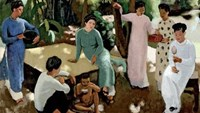 A charming, halcyon Vietnam in century-old paintings by French artists