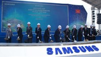 Samsung builds $1.4 bln factory in Vietnam
