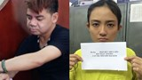 Doan Ngoc Minh (L) and Tran Duc Thuy Lien have been arrested for running a high-end sex ring