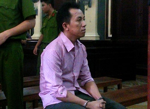 Nguyen Huu Vuong, 28, at a court in Ho Chi Minh City May 29, 2015. Photo credit: VnExpress.