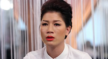 If convicted, Tran Thi Trang will face up to 3 years in jail for resisting officers. File photo.