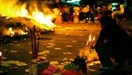 A local performs offerings to the hungry ghosts during the Ghost month in Vietnam. File photo.