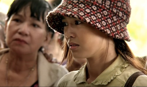 "A still image shows actress Ninh Duong Lan Ngoc in Vietnamese comedy ""Jackpot"""
