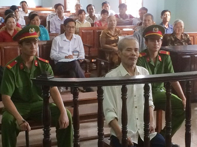 Lee Ya Te during a court in Can Tho Province in Friday. Photo: Mai Tram.