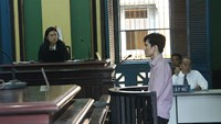 Do Dinh Nam, 31, at his trial in Ho Chi Minh City on December 14, 2015. Photo credit: Tuyet Mai/ Tuoi Tre