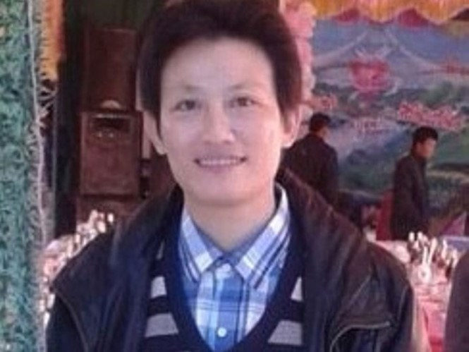 A file photo of Nguyen Thi Dieu, 43, who was arrested on January 12, 2016 for stealing hundreds of Nike products from factories in Vietnam.