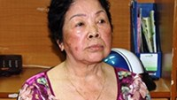 Nguyen Thi Miet, 82, the alleged leader of a large drug ring in Ho Chi Minh City. Photo provided by the police.