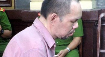 Lee Loke Dah, 40, stands trial in Ho Chi Minh City on Friday. Photo credit: VnExpress.
