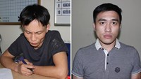 Nguyen Viet Dung (L) and Nguyen Thac Minh Hieu. Photos provided by the police.