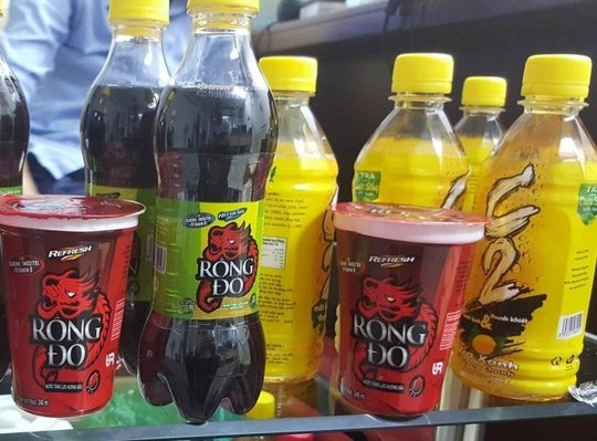 Three batches of beverage products made by URC Vietnam will have to be withdrawn from the market, officials said Friday. File photo