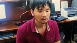 Vu Duy Kien, 38, at a police station in Hanoi. Photo provided by the police
