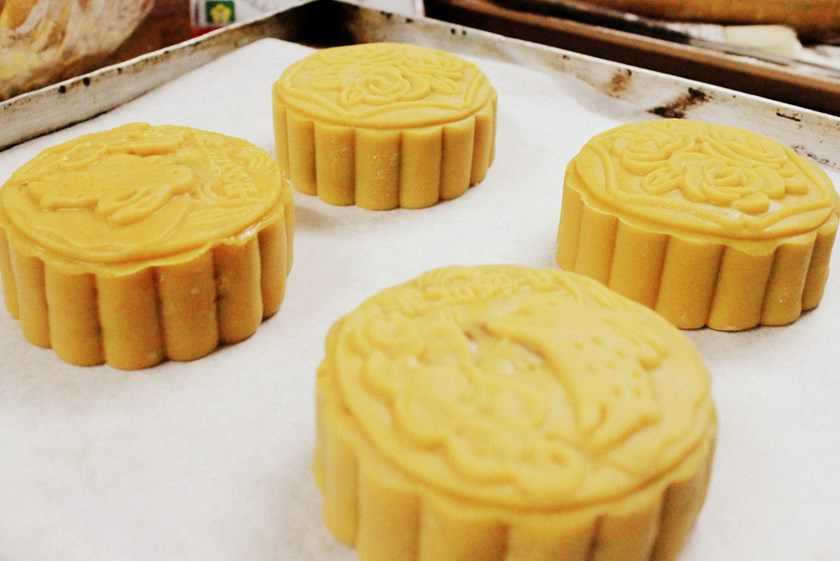Traditional thap cam mooncakes made by Thien Thu in Ho Chi Minh City. Photo: Kim