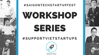 Photo Saigon Tech Startup Fest.  Conferences with top speakers are highlighted part of the events