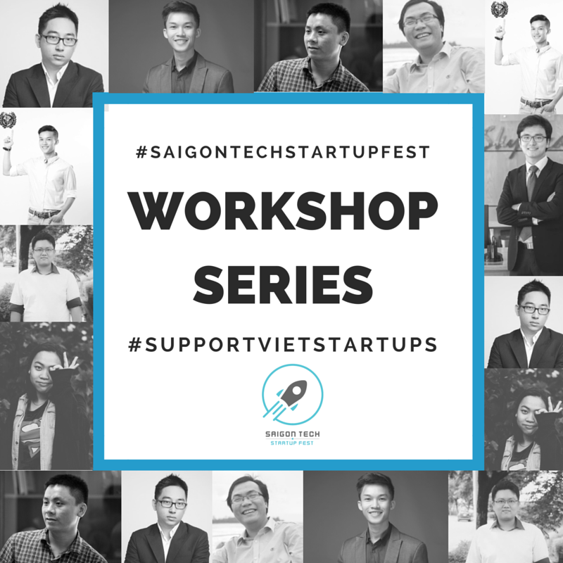 Photo Saigon Tech Startup Fest. 