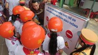 HCMC students play games to improve road safety awareness