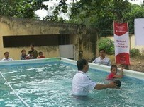 Vietnamese children trained to deal with natural disasters