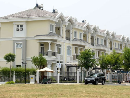 Houses in Ho Chi Minh City's Phu My Hung Urban Area. Photo: Diep Duc Minh