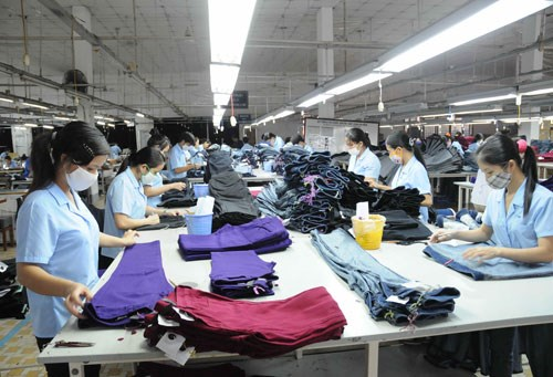 Vietnam's garment industry is expected to affected the most by minimum wage increase. Photo: Diep Duc Minh
