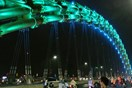 Vietnam's Dragon Bridge honored at int'l lighting awards
