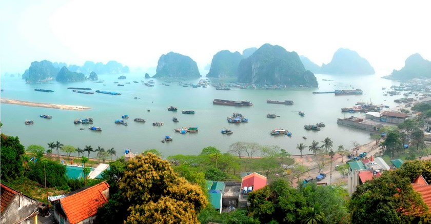A corner of Ha Long Bay in the northern province of Quang Ninh. Photo: Diep Duc Minh