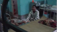 Phan Cong Trong challenged a team of officers dispatched to the Nghe An Hospital after killing a fellow inmate. Photo credit: VnExpress
