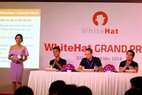 Bkav's White Hat Grand Prix 2014 was announced during a recent press conference held by Bkav, the nation's leading online security firm. Photo credit: Bkav