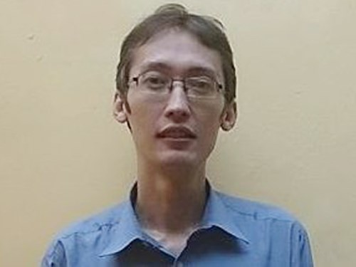 A portrait of William Woods, who has been found after nine months being alleged as missing in Vietnam. Photo credit: Nguoi Lao Dong