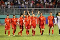 Vietnam's female football team will face North Korea and Hong Kong at the Incheon Asian Games 2014. Photo: Kha Hoa