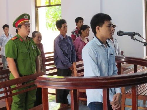 Le Han Van Tam got five years for kidnapping and sexual coercion. Photo: Nguyen Long
