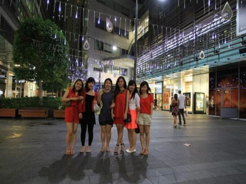 Vietnamese students in Australia. File photo