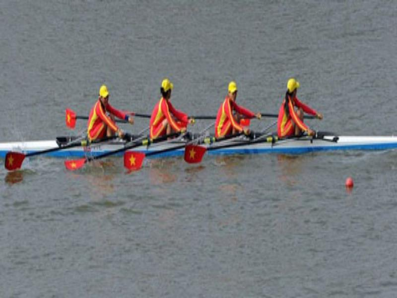 Vietnam rowers bag silver at Asian Games