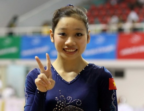 Phan Thi Ha Thanh has bagged her second medal at the Asian Games 2014. Photo: Kha Hoa