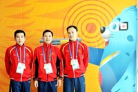 Vietnam shooters claim bronze medal at Asian Games