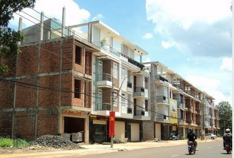 A residential area built on prime land that Binh Phuoc administrators undersold to a local firm. File photo.