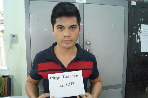 Nguyen Thanh Nhan was arrestd for allegedly hiring gangsters to kill a man competing with him in buying land. File photo
