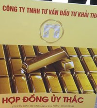 An advertisement for the Khai Thai Company. File photo